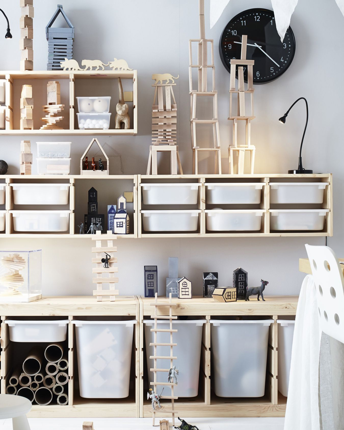 19 Unique Toy Storage Ideas For Kid's Playroom, Bedroom & Small