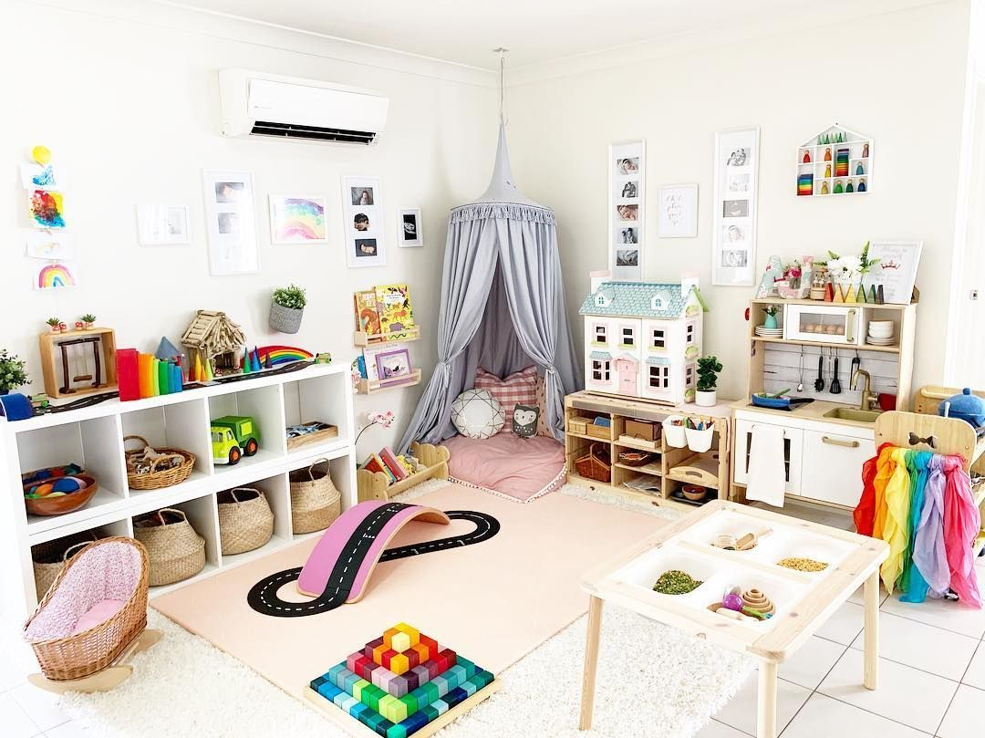 Wonderful, Inviting Playroom | Homeschooling - Learning At Home In