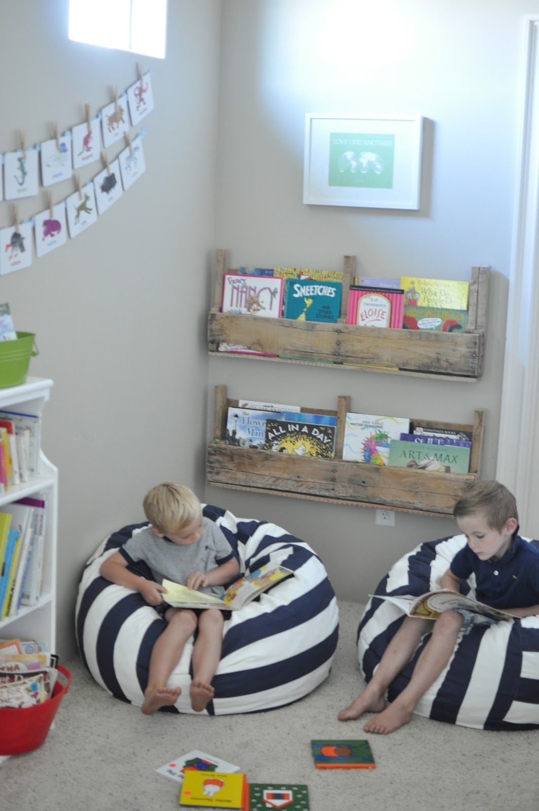 This Could Work Well For My 3 Boys   Playroom   Reading Nook Kids