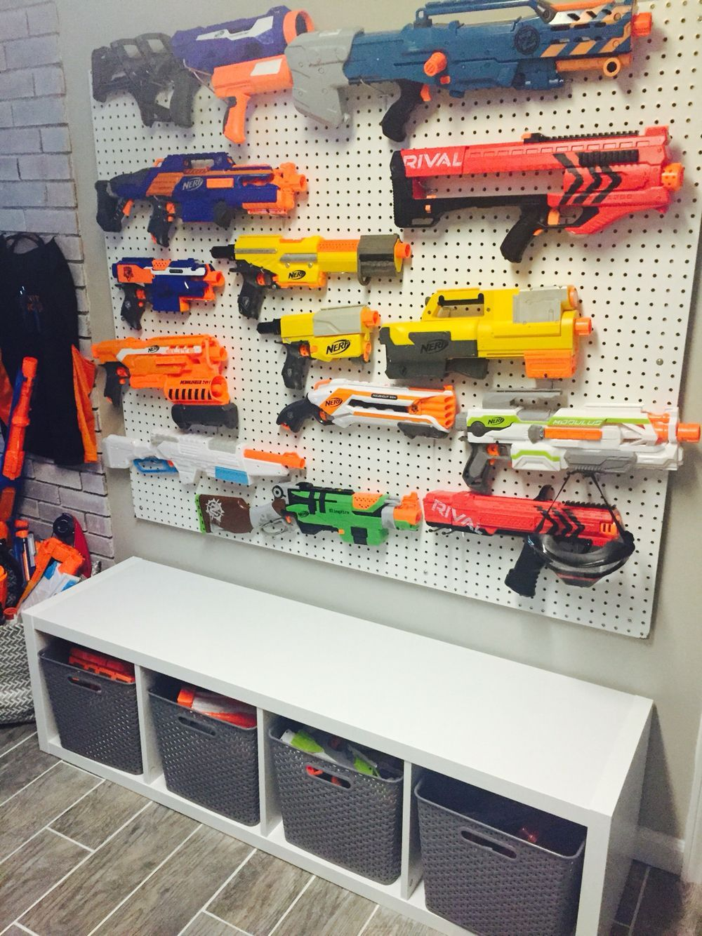 Unique Toy Storage Ideas For Kid's Playroom, Bedroom & Small Space