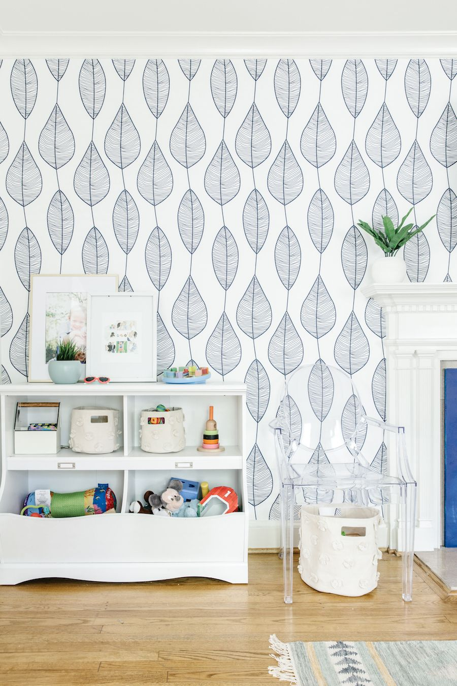 A Blue Playroom Designed By Olive & Tate For The One Room Challenge