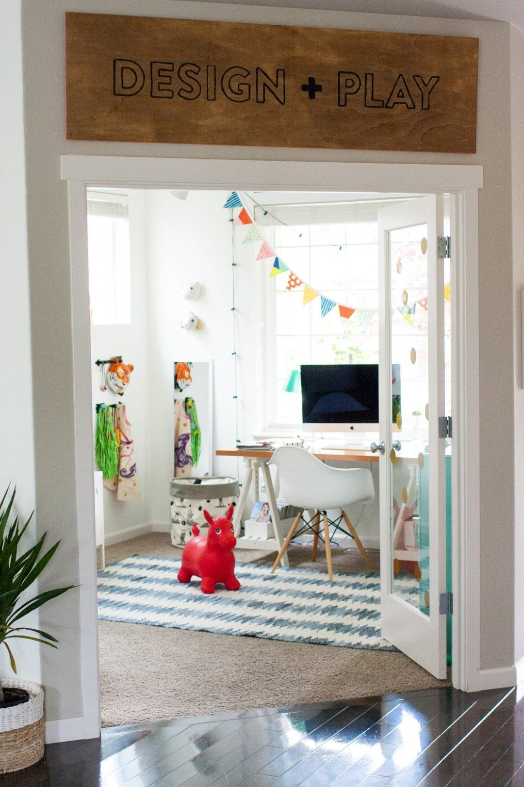Looking To Maximize Function In Your Home With An Office Playroom