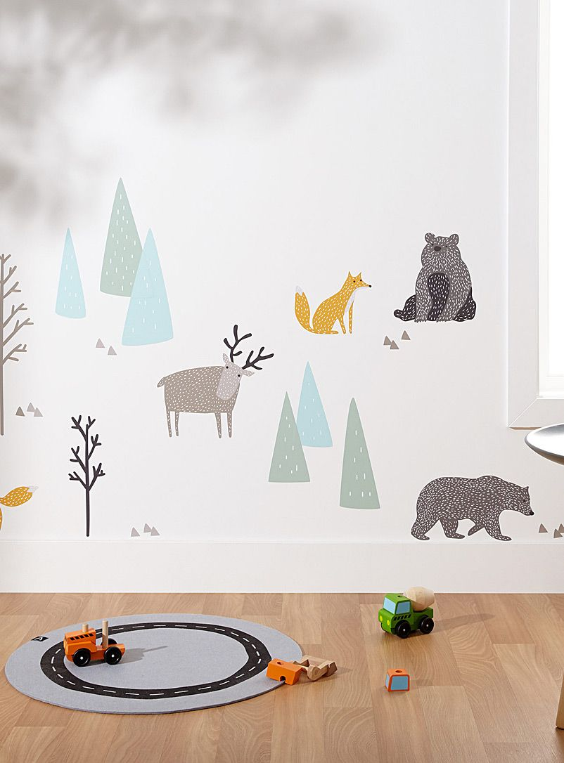 A Walk In The Woods Wall Stickers In 2019 | Office Craft Playroom