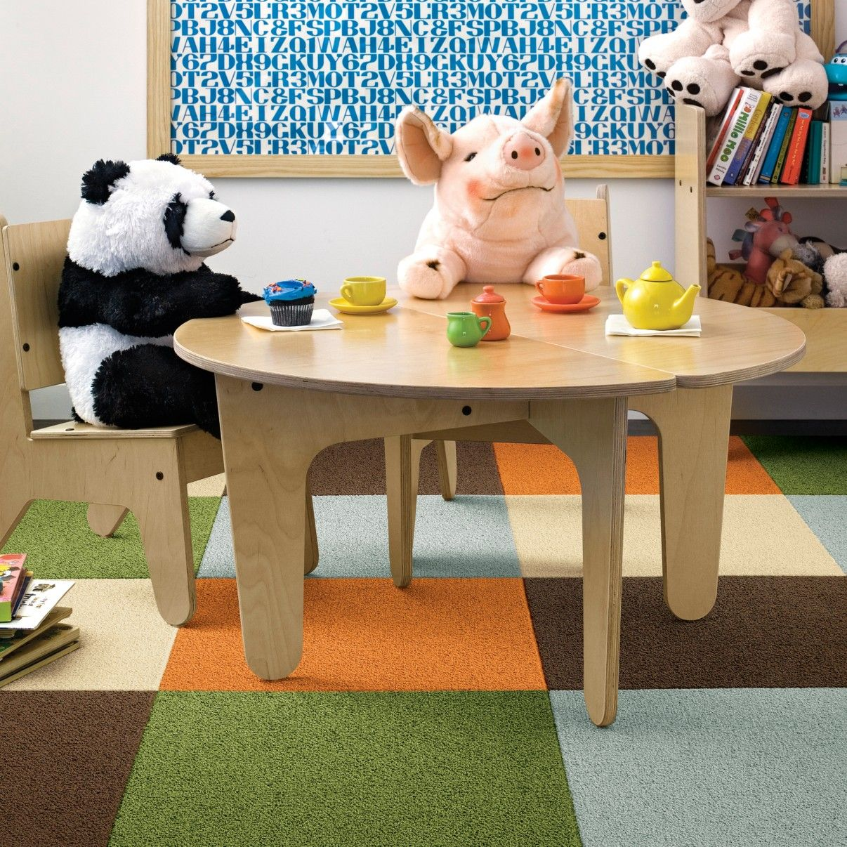 Thinking Of Replacing Rug In The Playroom With Flor Tiles Like These