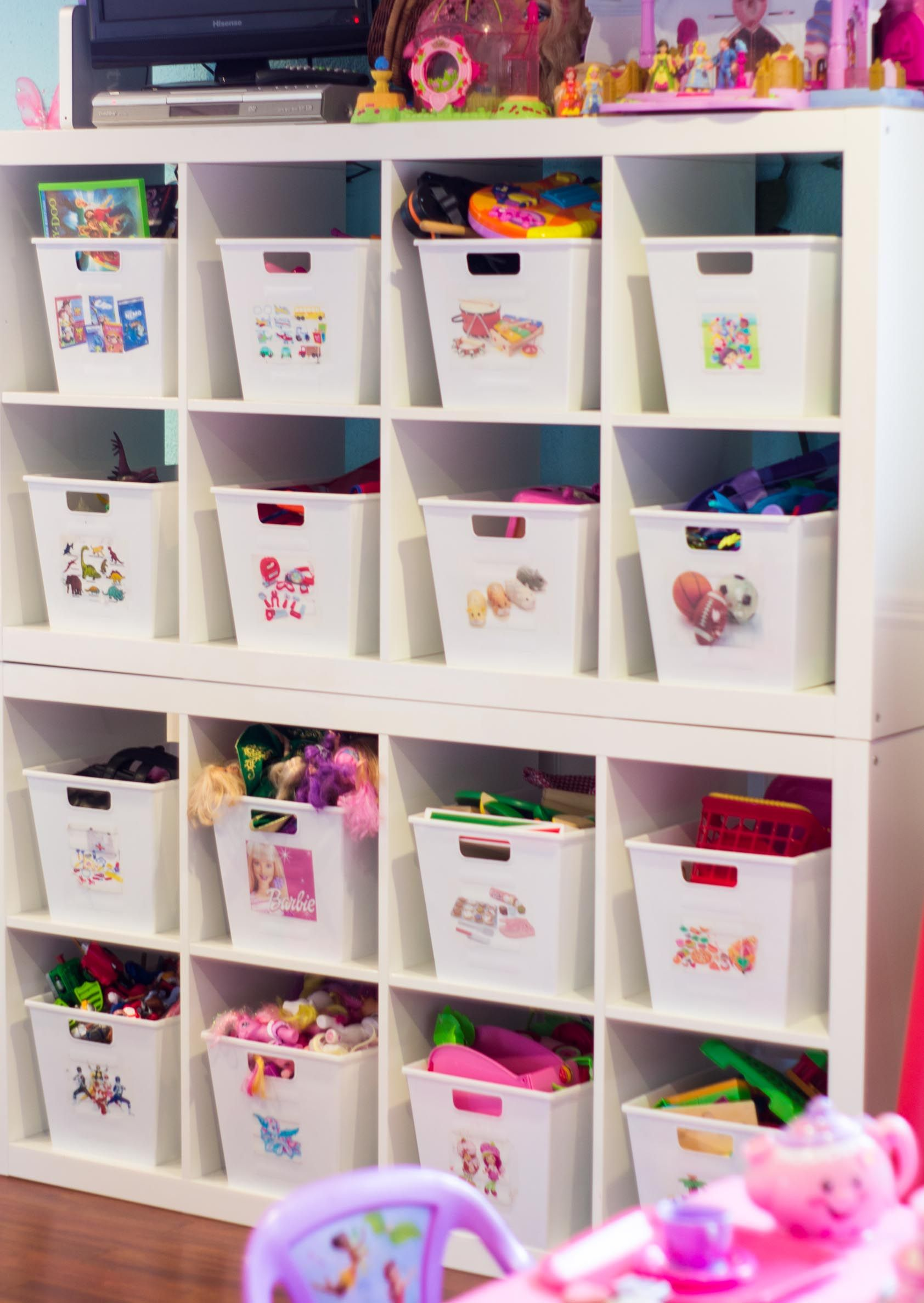 An Organized Playroom | Toy Room | Muebles Para Juguetes