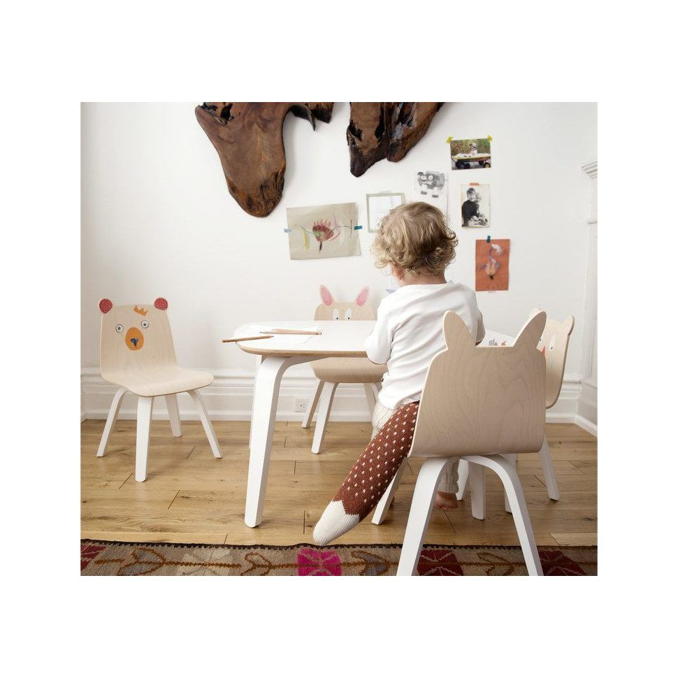 Oeuf Set Of 2 Rabbit Play Chairs, Birch In 2019 | Home | Playroom
