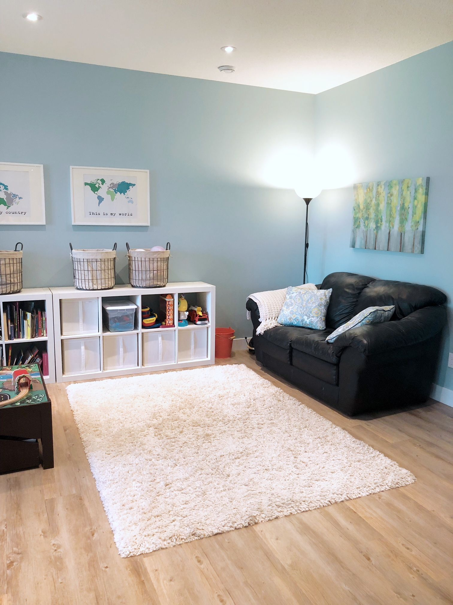 An Organized Playroom – Valley + Birch | Home Decor In 2019