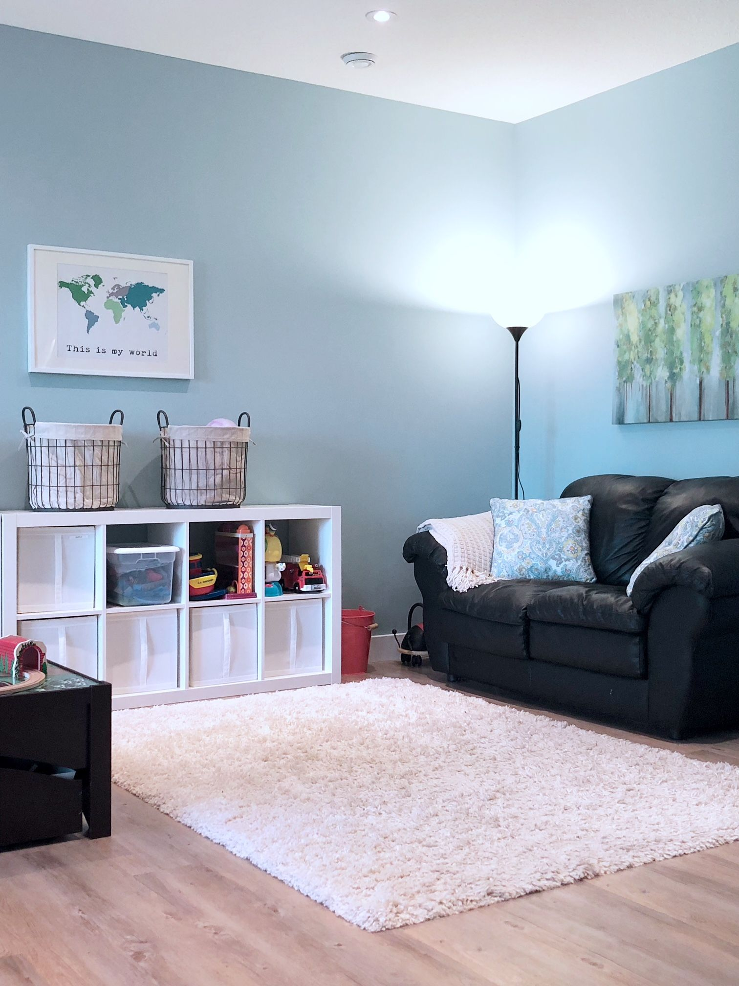 An Organized Playroom – Valley + Birch   Home Decor In 2019