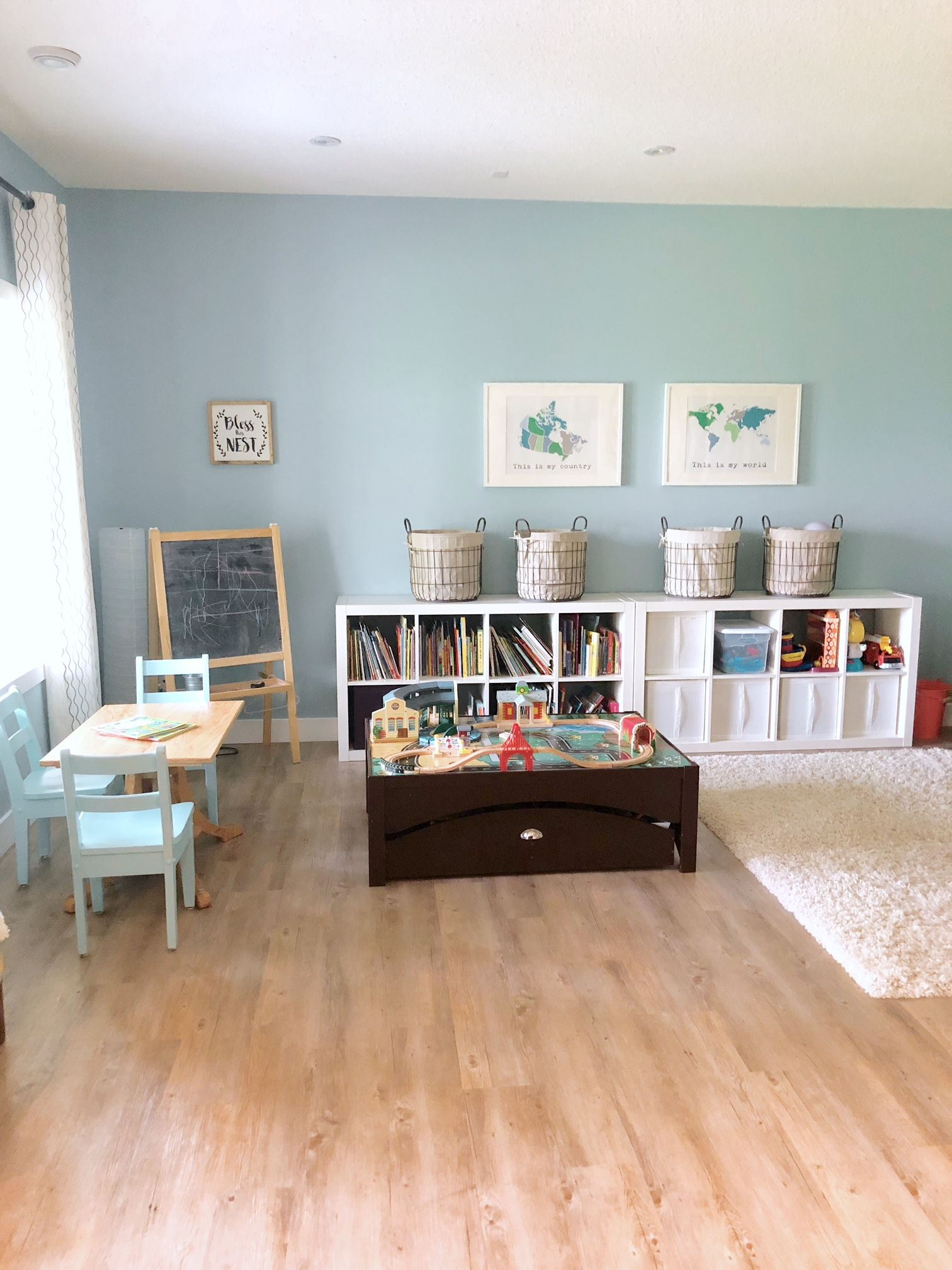 An Organized Playroom – Valley + Birch | Toddler Spaces In 2018