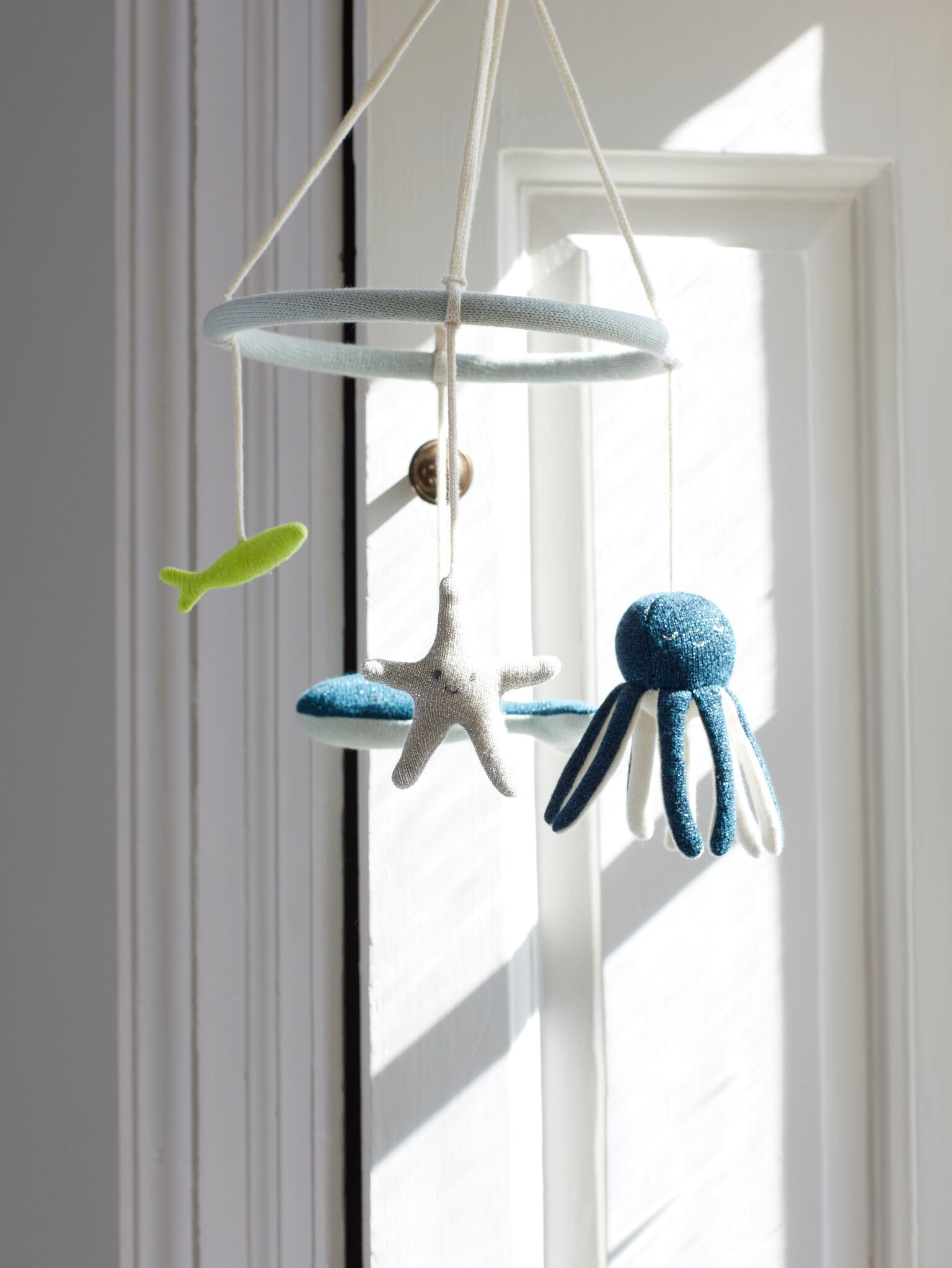 Under The Sea Baby Mobile In 2019   Playroom & Nursery   Baby Rattle