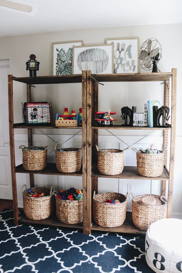 Organizing Playroom Toys   Home Inspiration For Modern Living