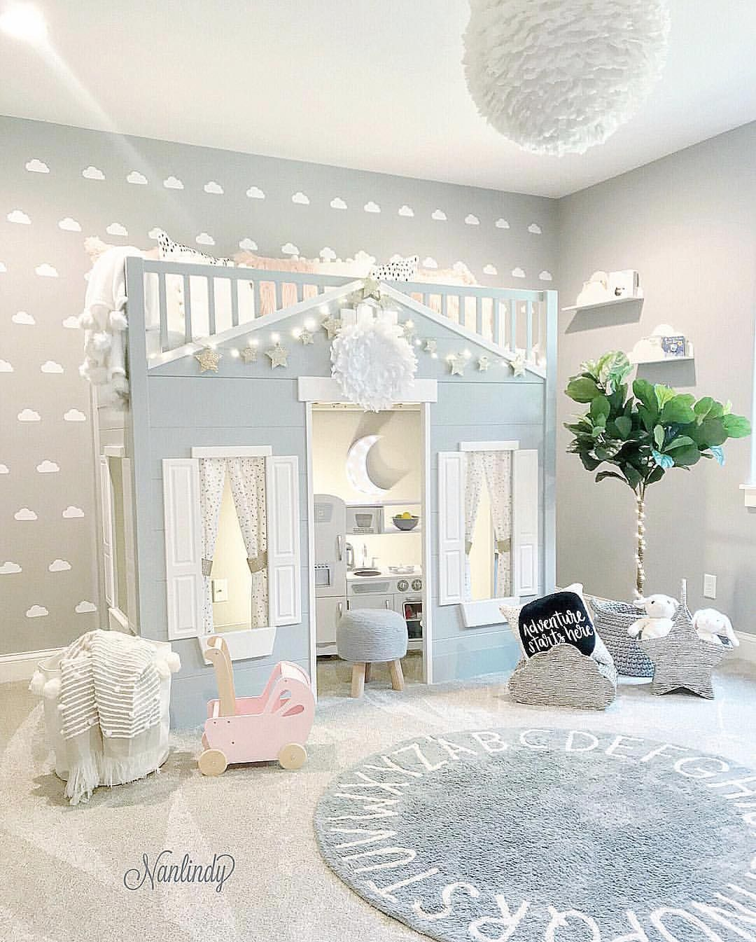 Check Out This Absolutely Stunning Playroom Design By @nanlindy
