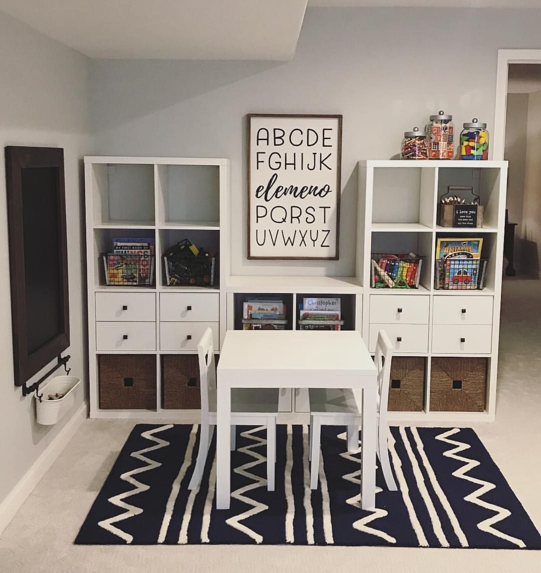 How Gorgeous Is This Playroom?! It's Inspiring Me To Redo My Kids