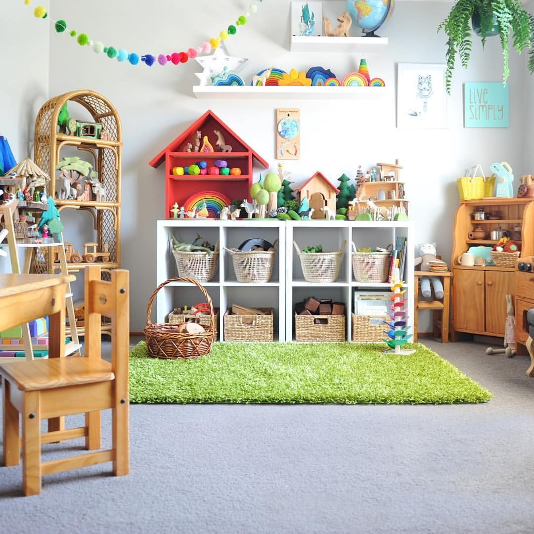 Clean Playroom, Kids Fed And Bathed And I'm Secretly Counting Down