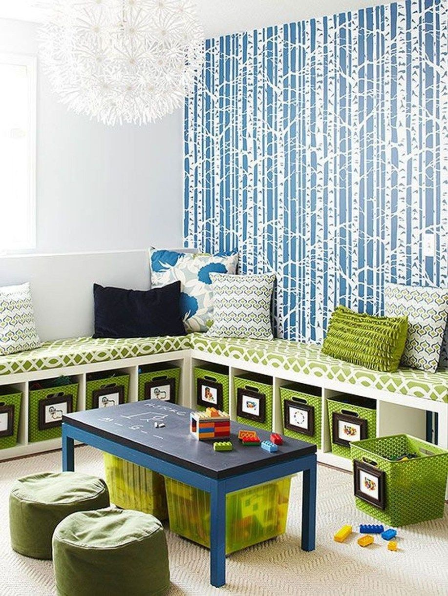 48 Awesome Playroom Design Ideas For Kids | Kids Room | Creative Toy