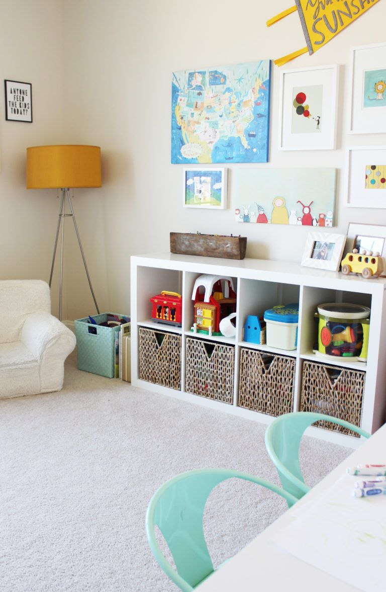 Room Tour: The Boys' Playroom | Baby Closet In 2019 | Kids Storage