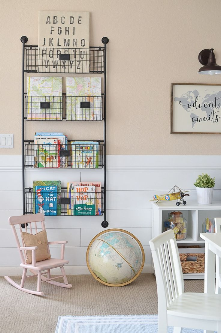 Little Vintage Nest | Modern Farmhouse Playroom Makeover Adorable