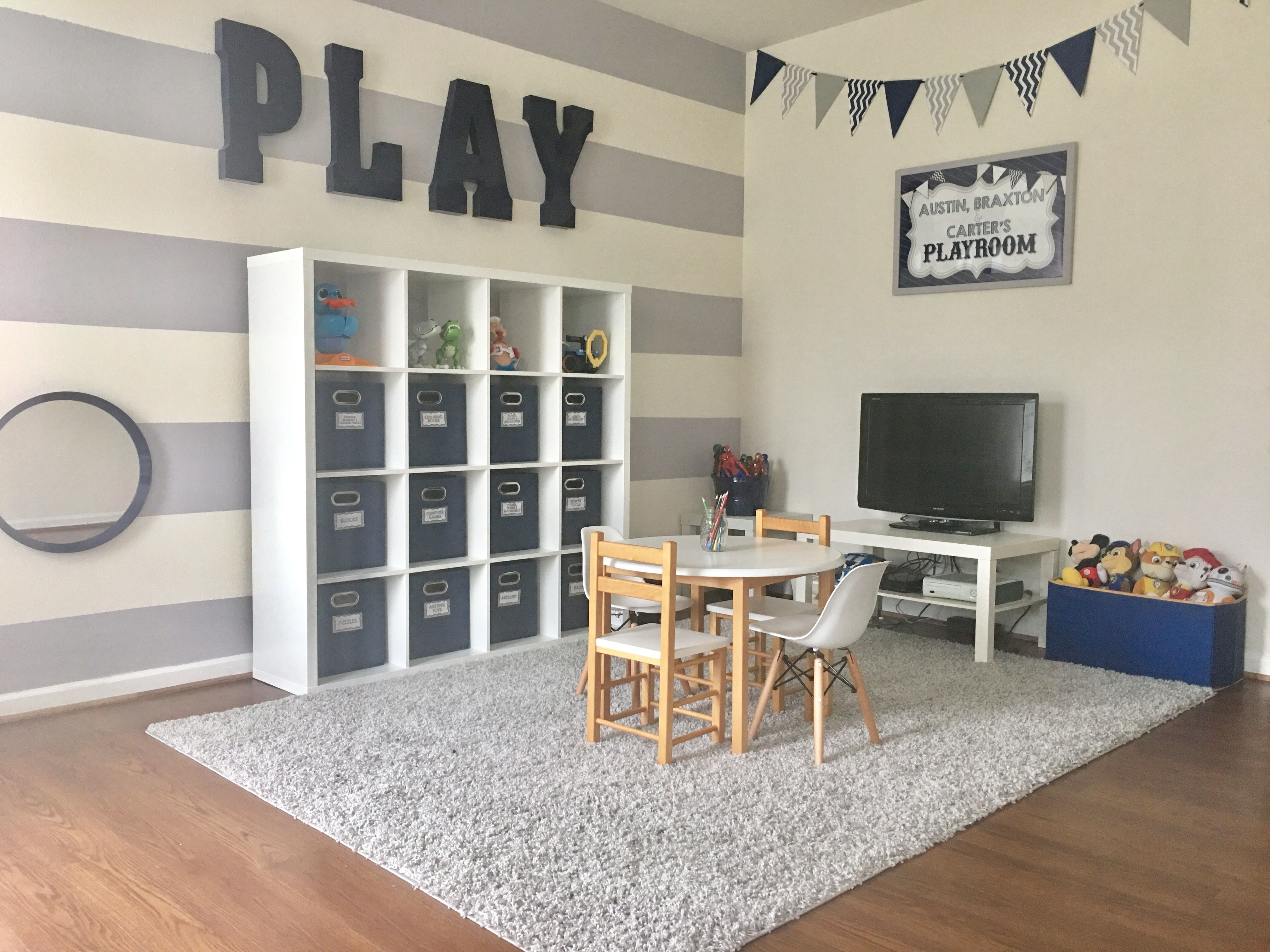Boys Playroom By Ashleigh Nicole Events | The Kids | Cuartos De