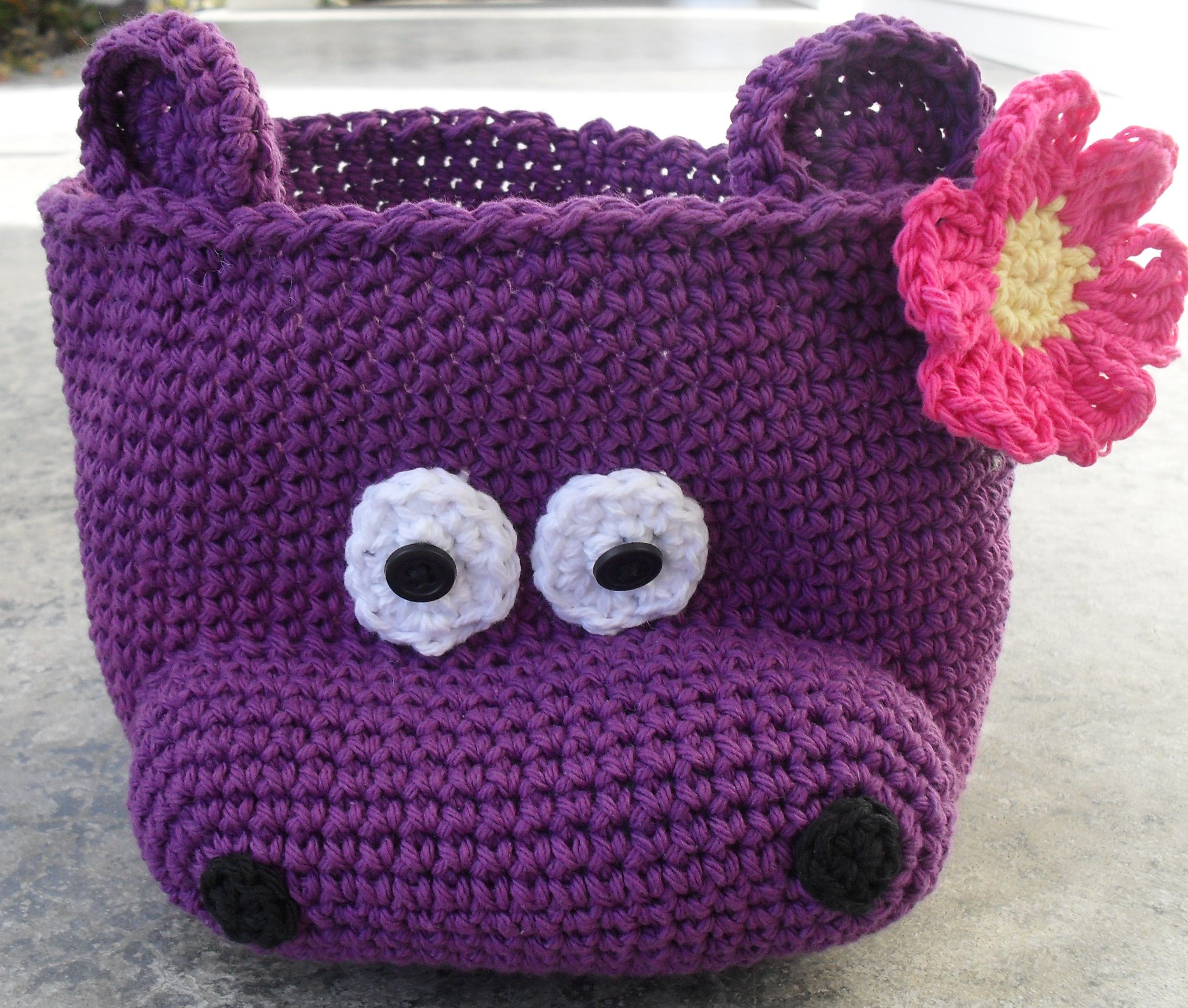 Henrietta Hippo Will Help Keep Toys Organized In Your Playroom Or
