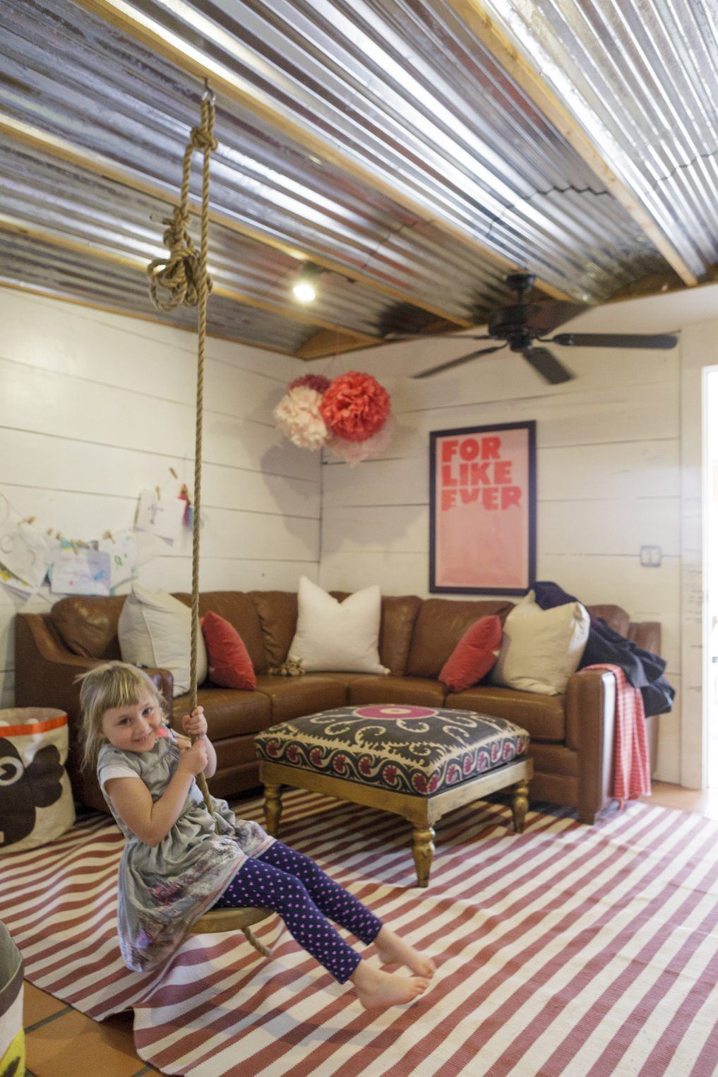 Eclectic Home Tour - French And French Interiors   Playroom   Casa
