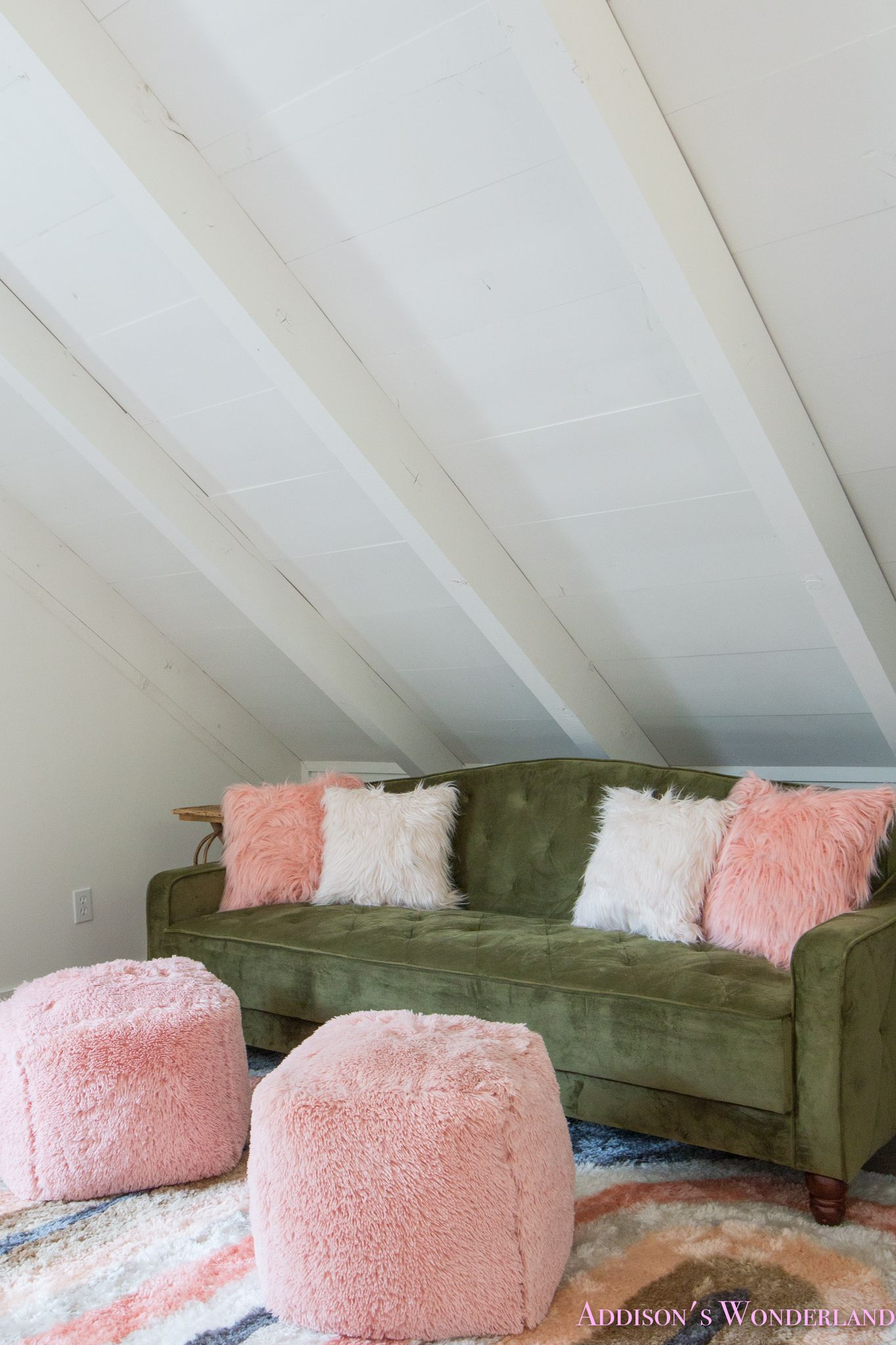Our Cabin Loft Reveal With Wal-mart Home Decor!   Playroom Fun