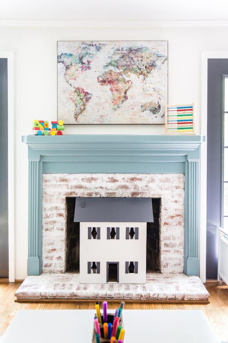 A Dated, Unorganized Playroom Gets A Bright And Whimsical Makeover