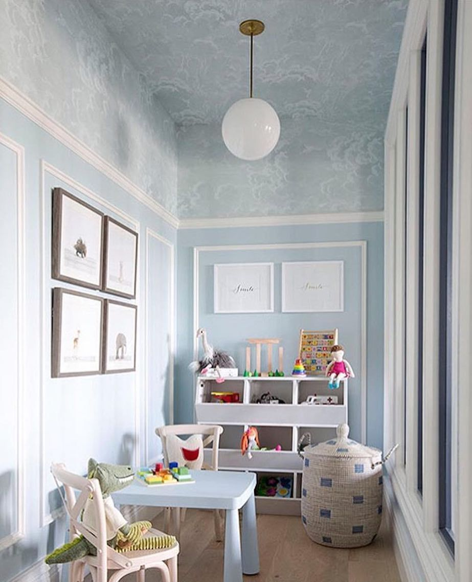 This Playroom By @summerthorntondesign Is Beyond Magical! I Love The