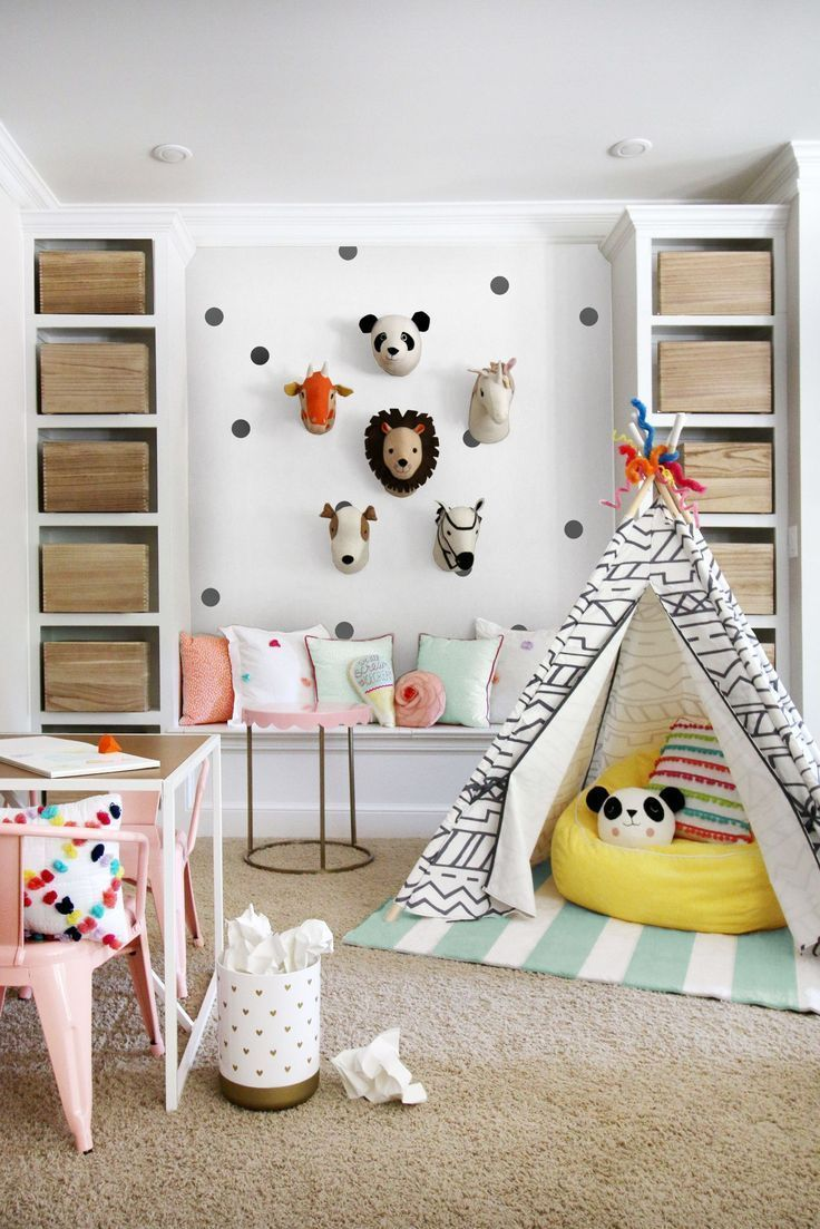 6 Totally Fresh Decorating Ideas For The Kids' Playroom   Idã©e Pour