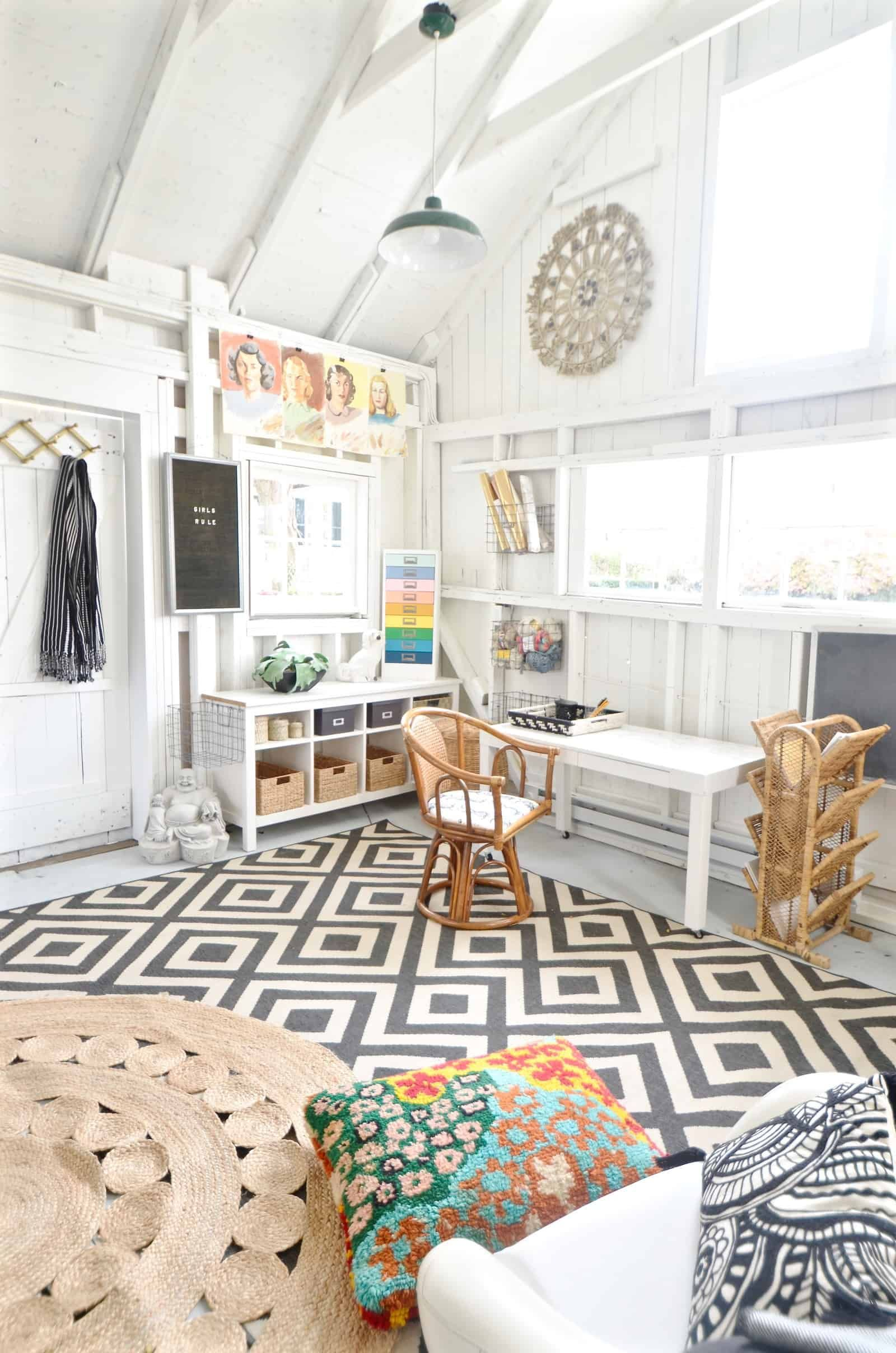 Backyard Dream Shed- One Room Challenge Reveal   Playroom