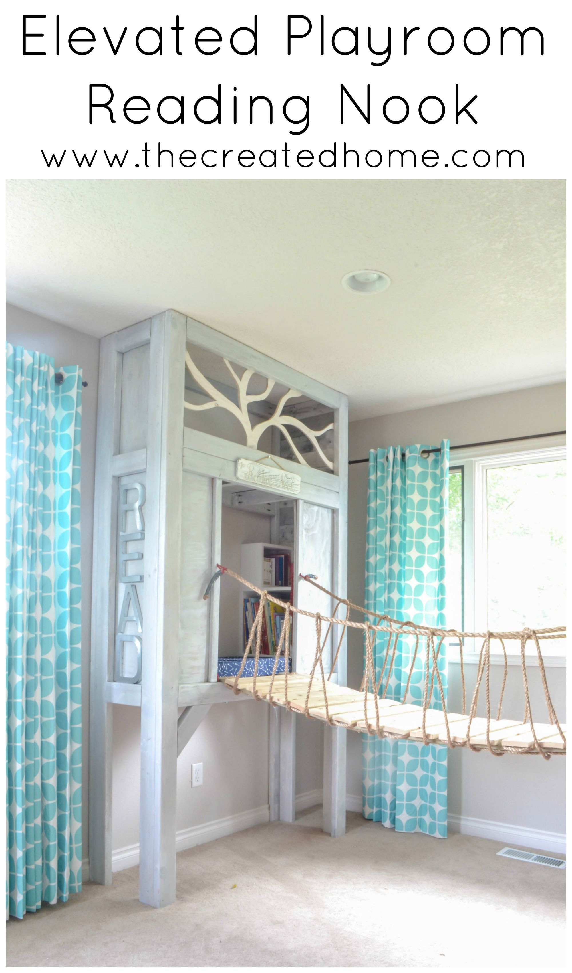 Elevated Playroom Reading Nook | Class Decorating | Room Decor, Girl