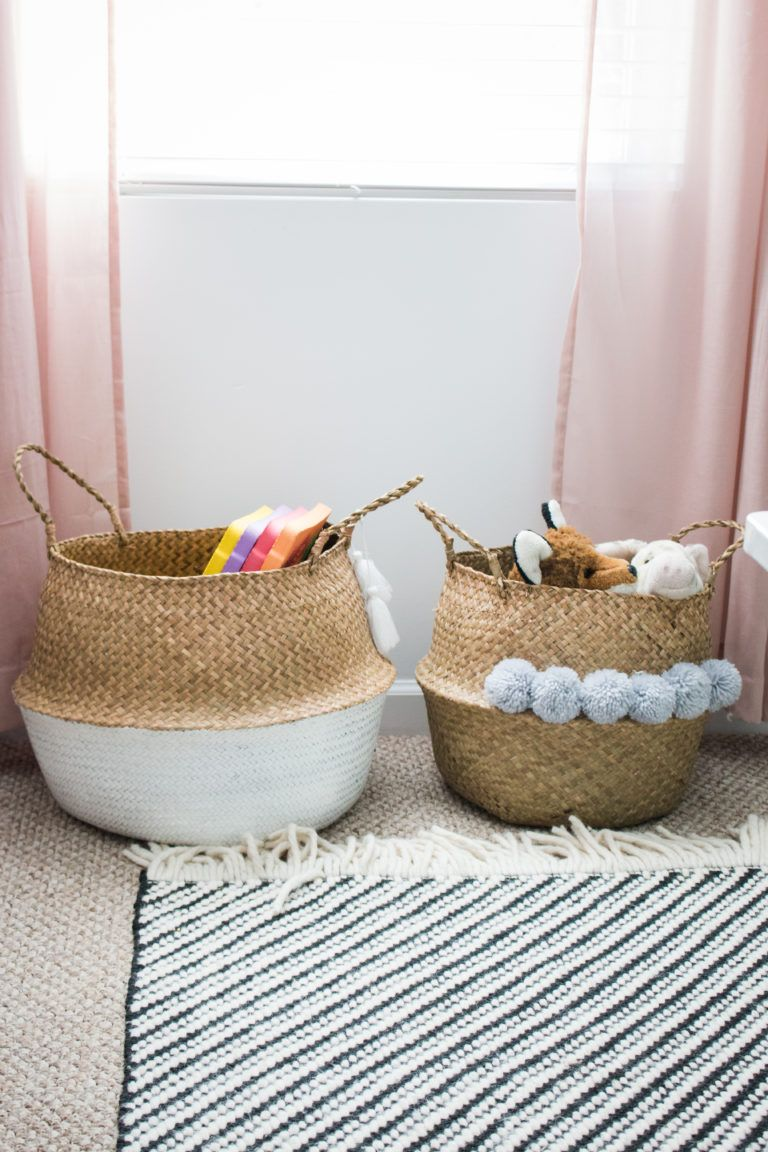 A Modern And Functional Playroom In 2019 | Children's Room Storage