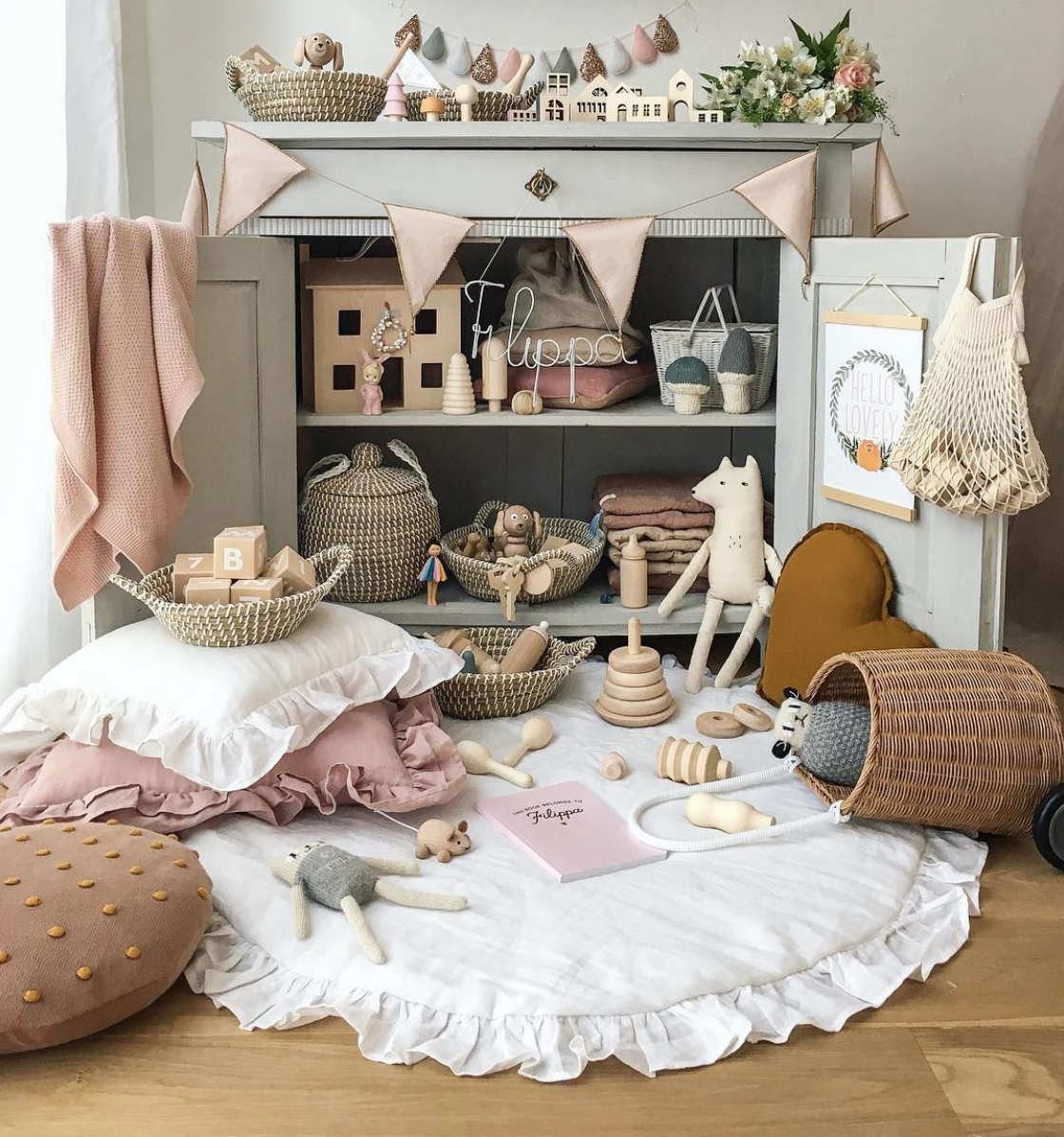 How Beautiful Is This Nursery And Playroom By @misstiptop Featuring