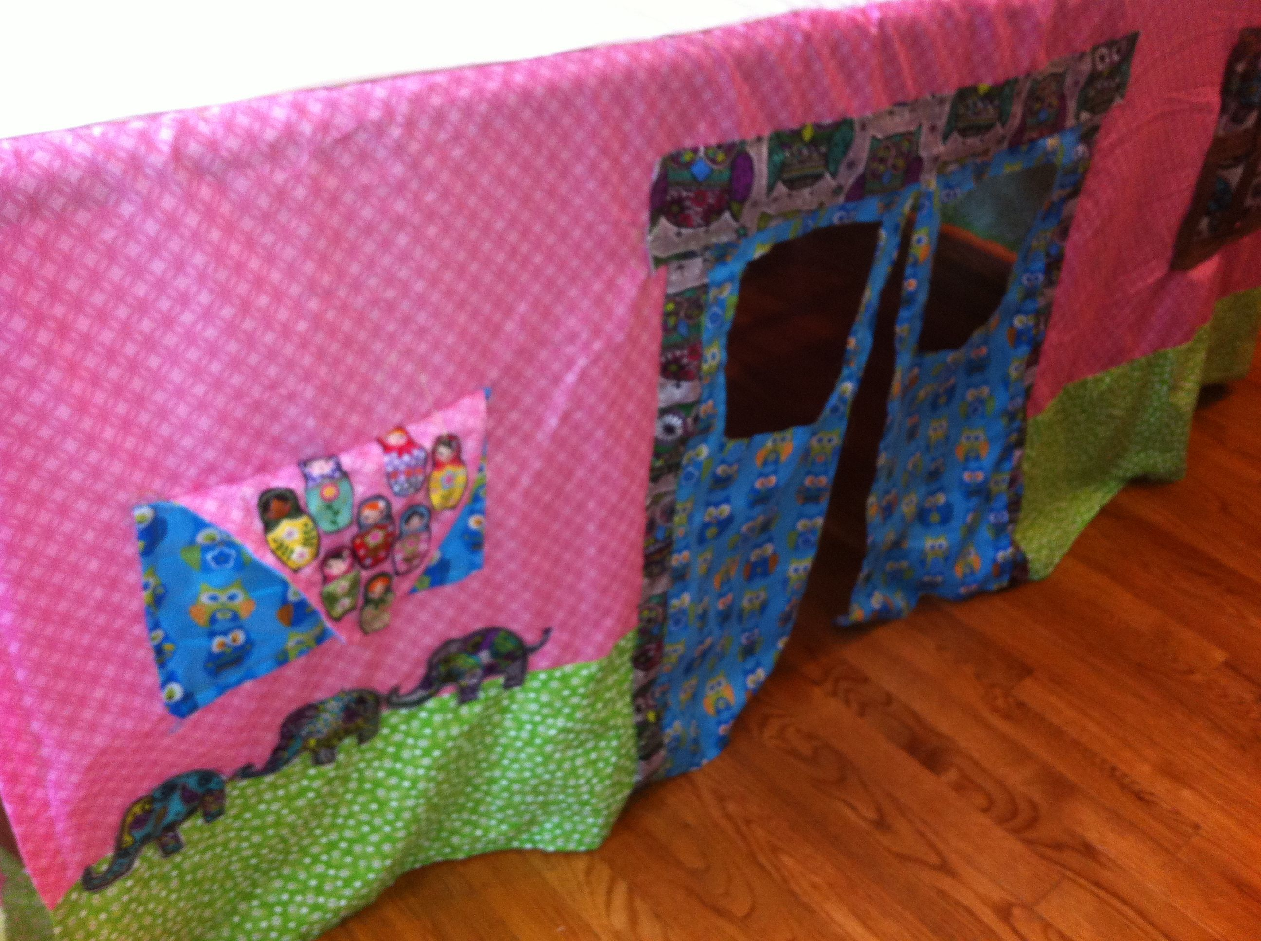 Z's Tablecloth Playhouse | Forhome-playroom | Play Houses, Diaper