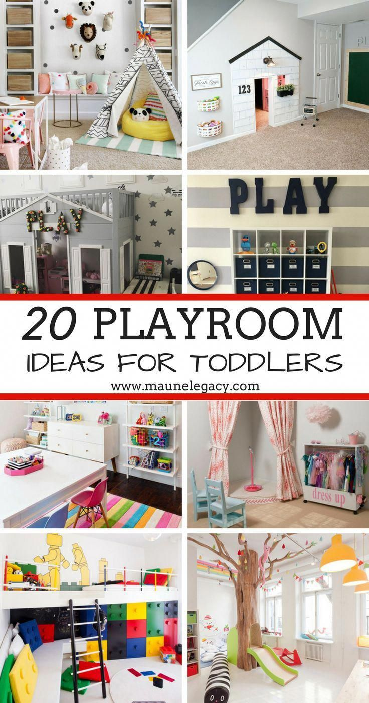 Here Are 20 Fantastic Playroom Ideas For Toddlers, From Bright To
