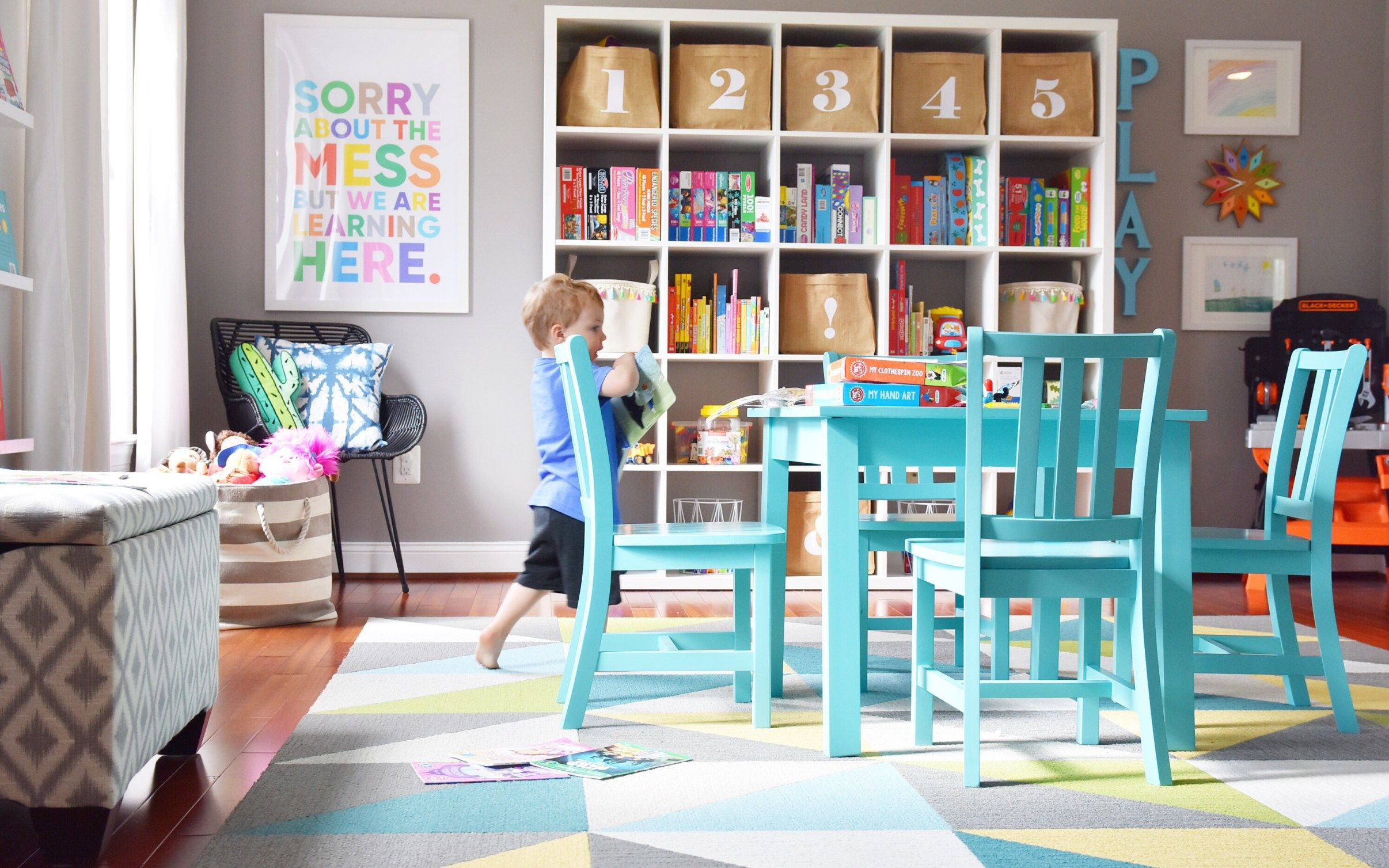 Our Modern, Colorful Playroom: Tips For A Stylish And Functional