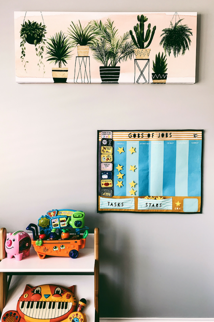 How To Refresh Your Kid's Playroom | Bloggy Moms | Modern Playroom