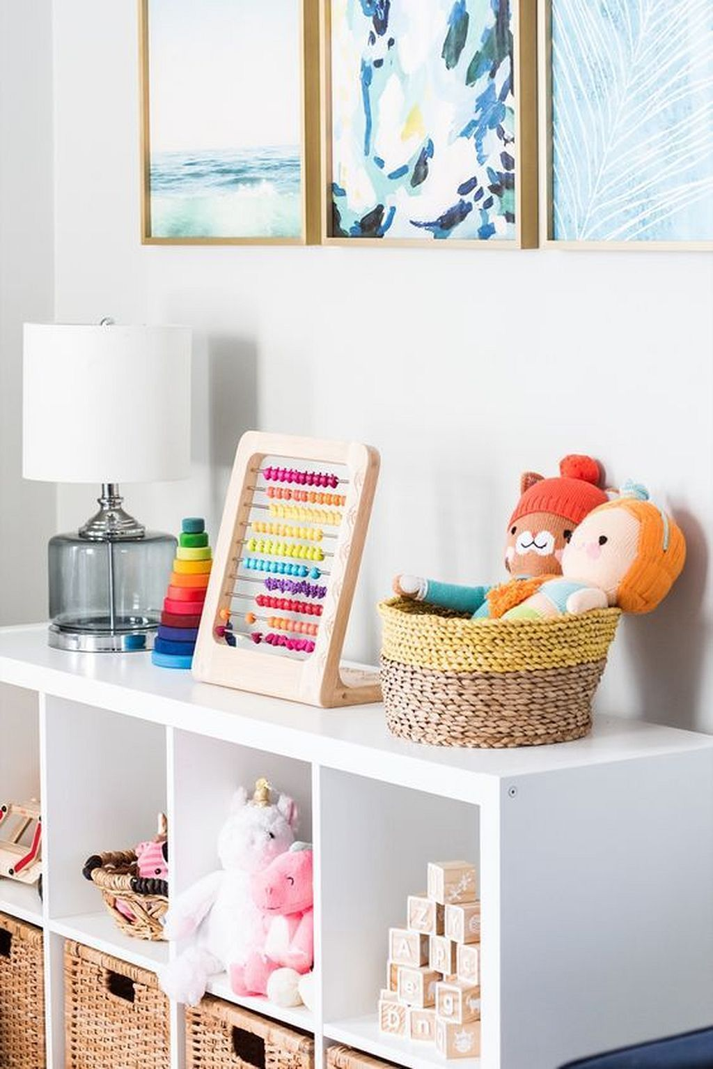 Contemporary Colorful Playroom Decorating Ideas | Baby, Baby