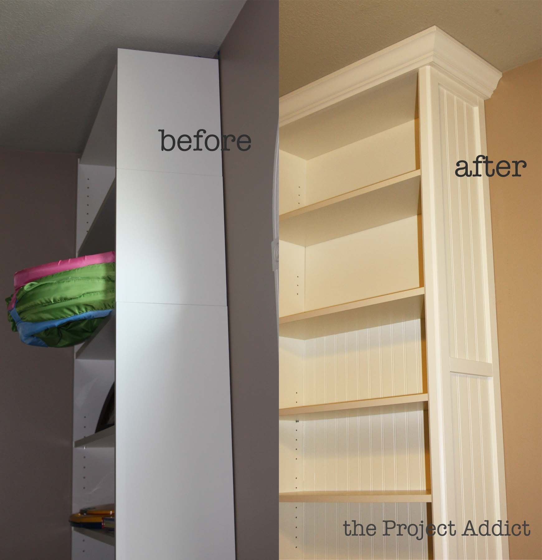 Playroom: Building In Billy Bookcases - The Project