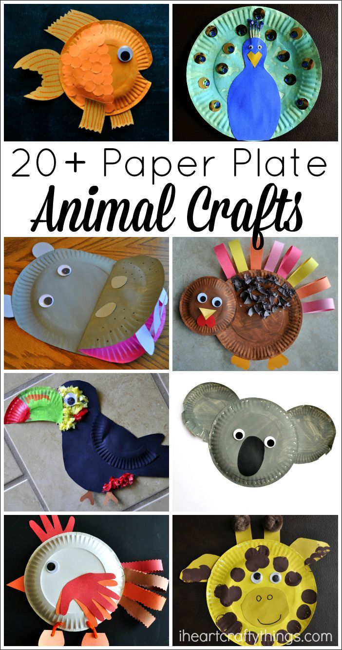 20+ Paper Plate Animal Crafts For Kids   Playroom/a Room