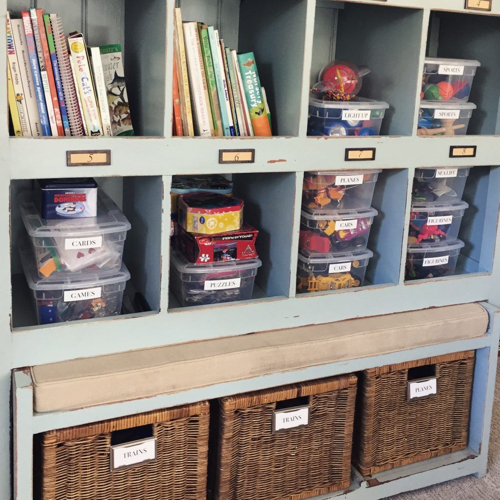 Simple Tips To Organize The Playroom // Neatly Designed
