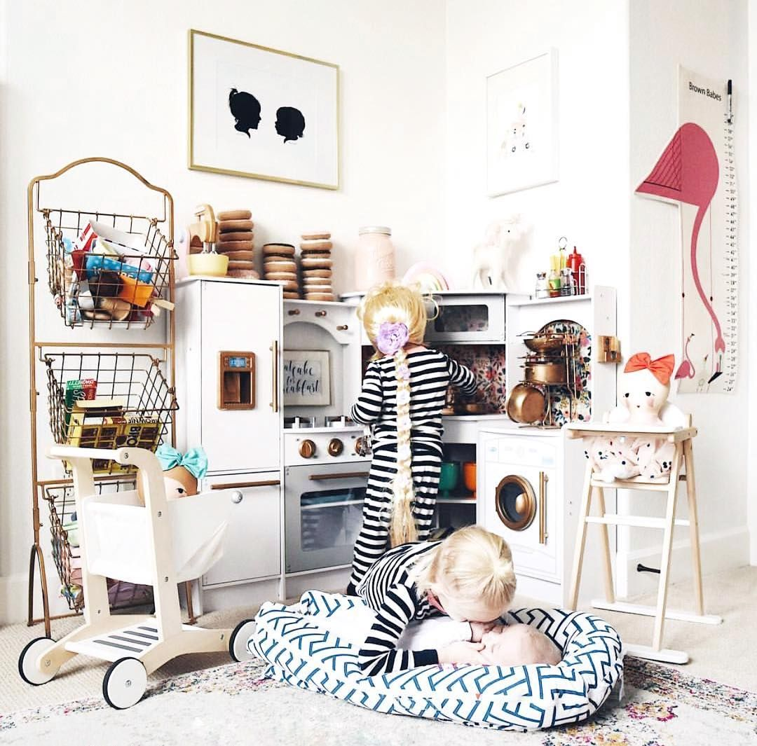 Look At This Adorable Playroom! Imagine Those Girls Looking At Their