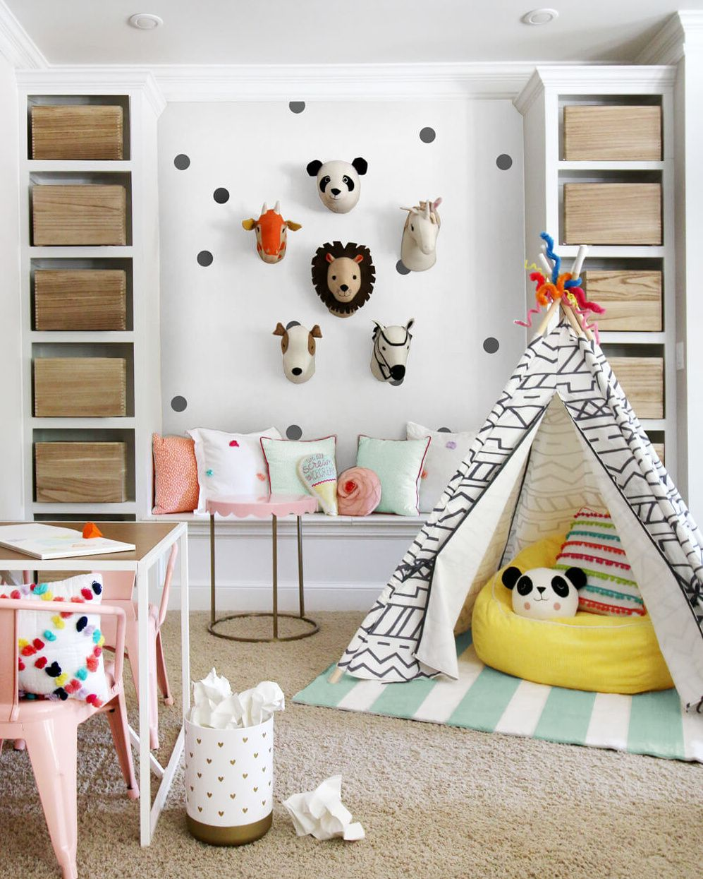 Pillowfort Blogger Challenge - 3 Very Cute Playrooms | Baby Cave