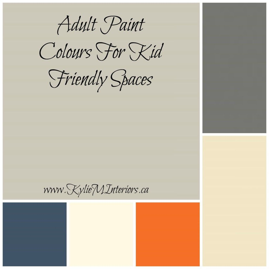 Top 5 Paint Colours For A Playroom / Family Room (benjamin