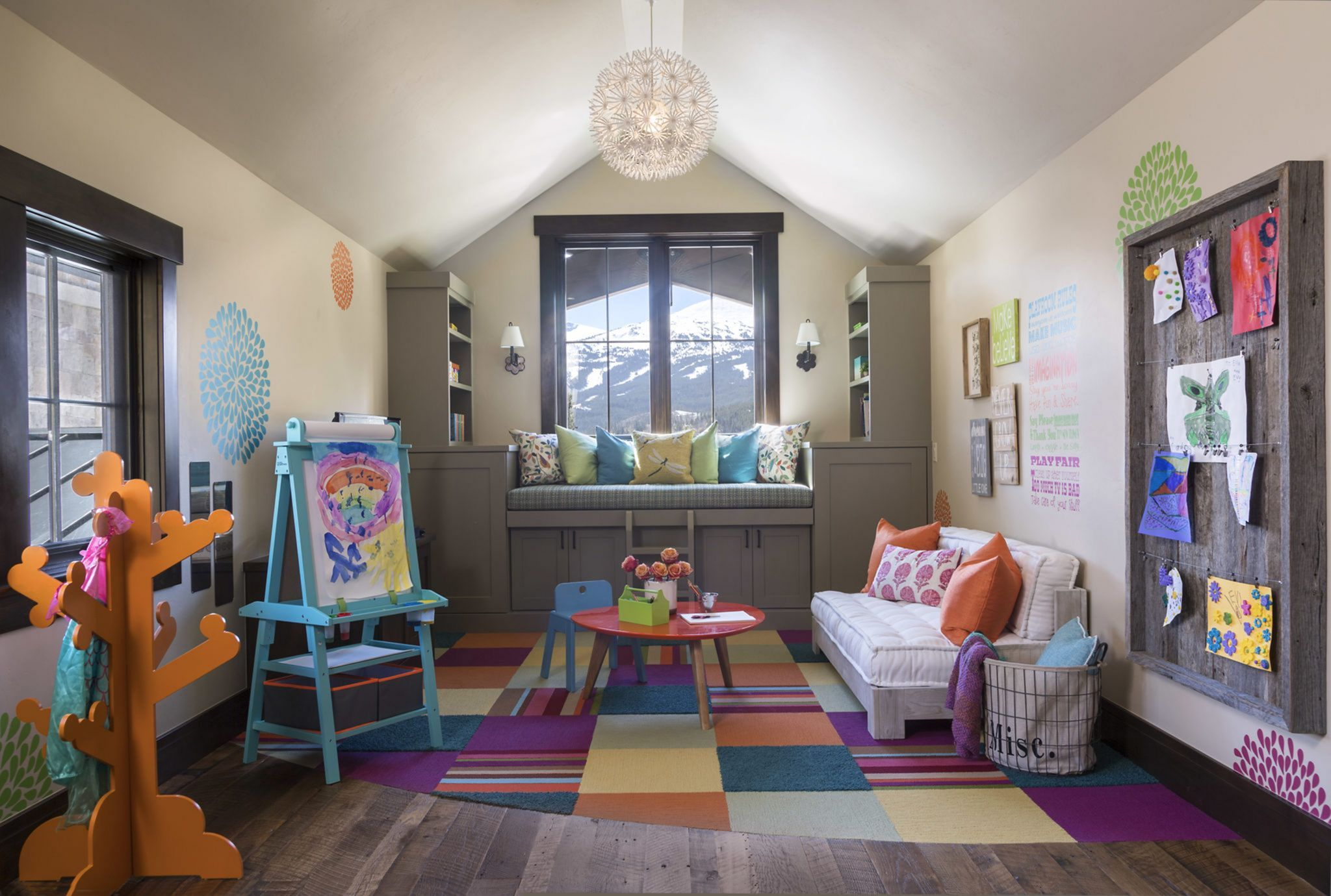 30 Fun Playroom Design And Decoration Ideas For Children