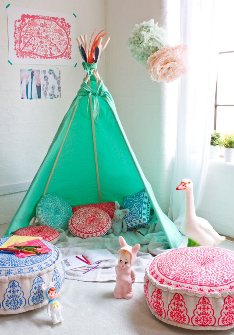 Pretty And Youthful Playroom Color Schemes   Creative Kid's