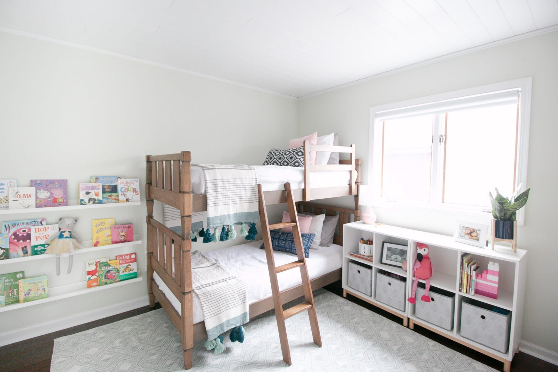 Kids' Room Makeover: The Perfect Bedroom & Playroom   Girls