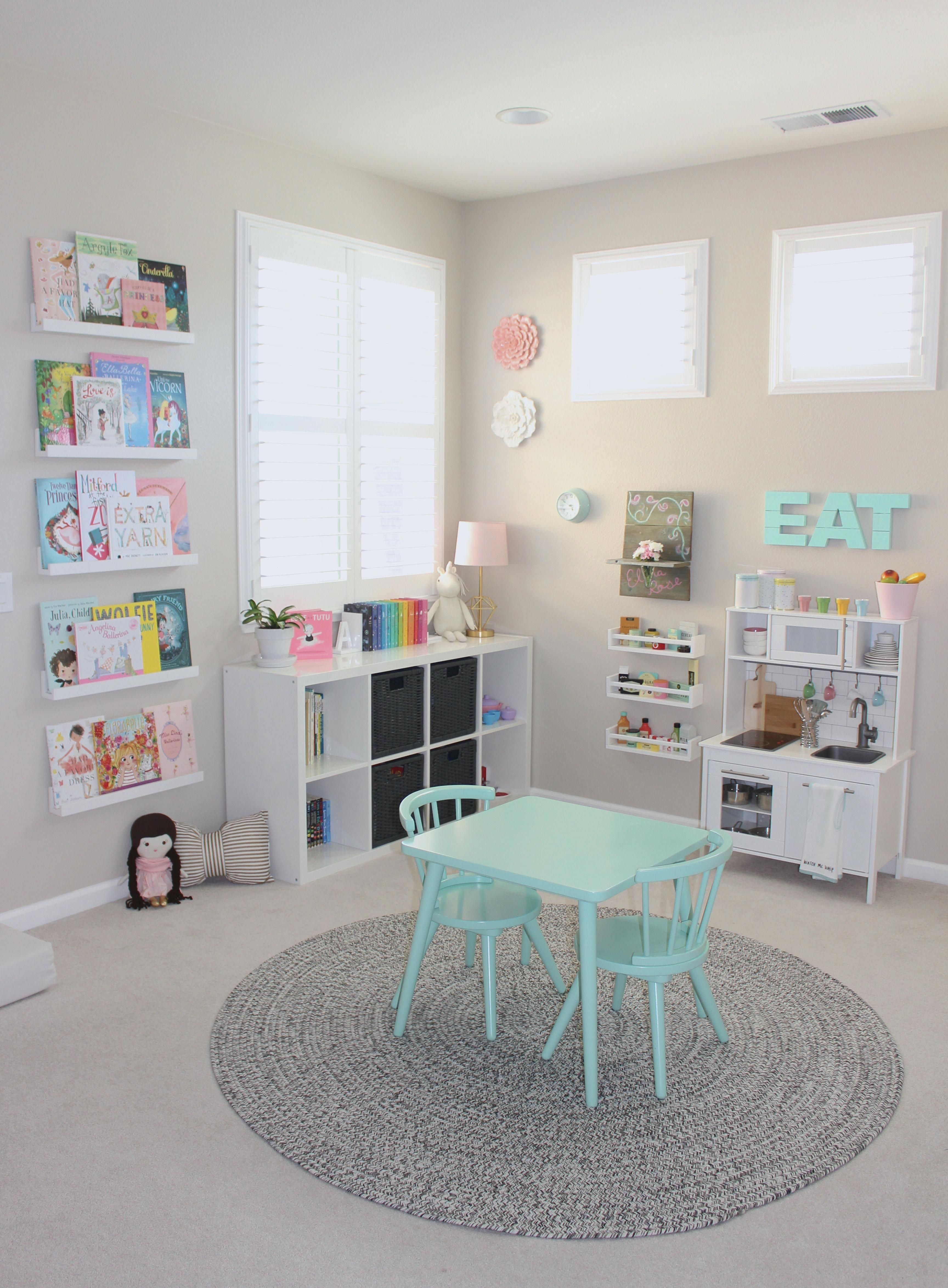 A Pretty In Pastels Playroom When I Designed Elena's