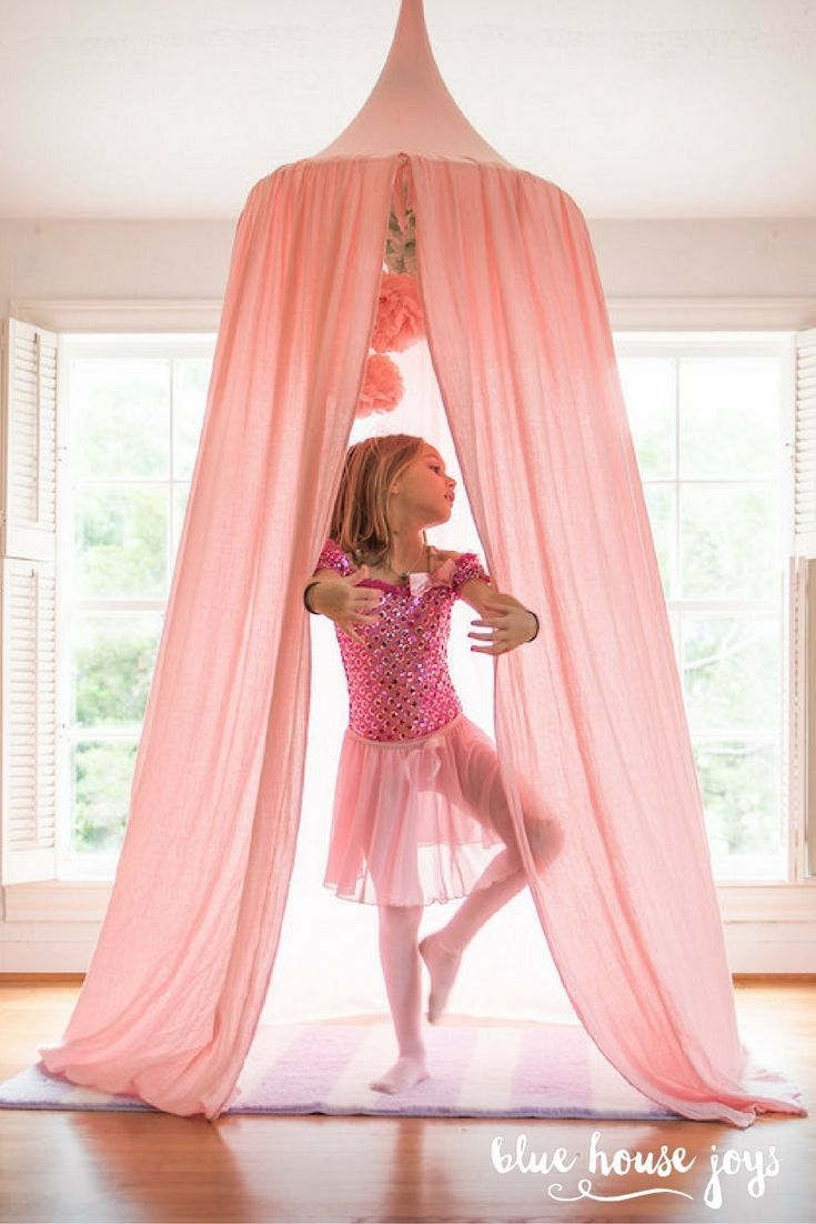Play Tent Canopy - Blush Pink   Playroom Inspiration