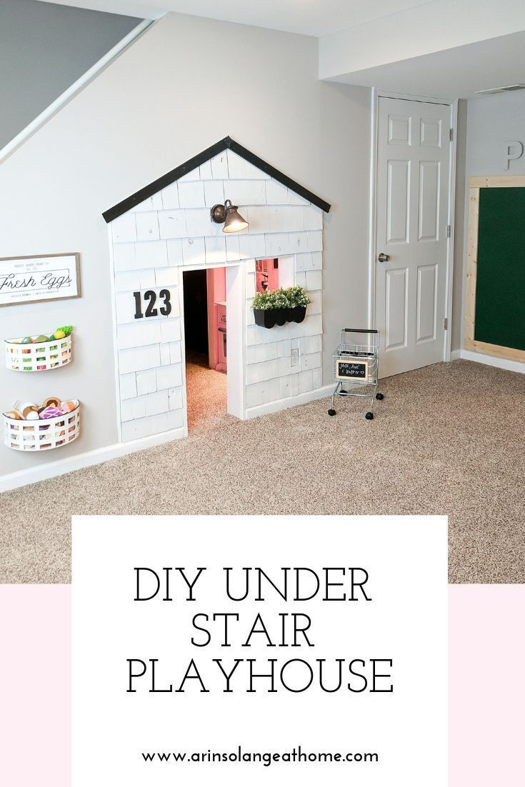 Under Stairs Playhouse | Playrooms | Under Stairs Playhouse