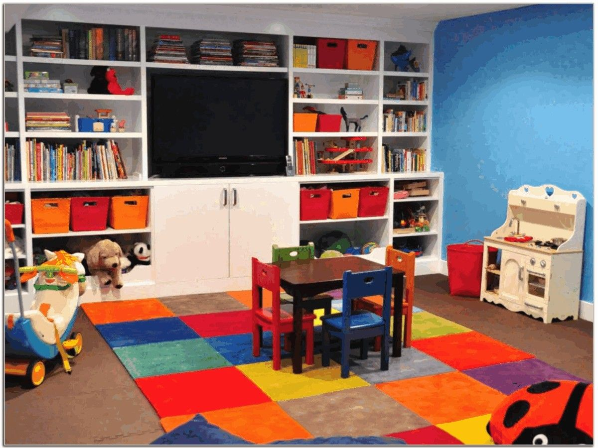Basement Playroom Ideas | Play Rooms And Daycare Rooms | Kids